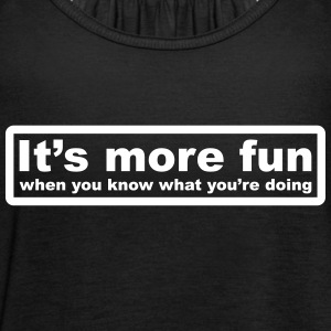 Have More Fun Tops - Women's Tank Top by Bella