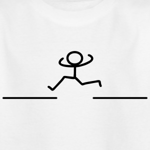 Run runner Shirts - Kids' T-Shirt