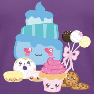 Cake Kawaii - Frauen Premium Tank Top