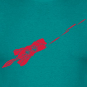 spaceship laser shooting war Star Battle T-Shirts - Men's T-Shirt