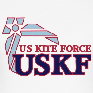us kite force      en - Men's Slim Fit T-Shirt