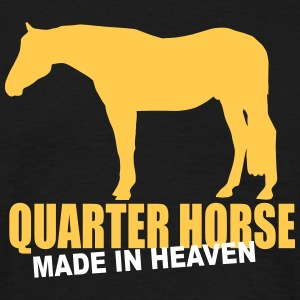 Quarter Horse - Made in heaven  T-Shirts - Männer T-Shirt