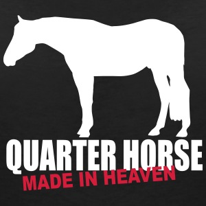 Quarter Horse - Made in heaven Tee shirts - T-shirt col V Femme