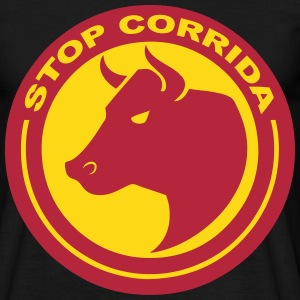 stop corrida Tee shirts - T-shirt Homme