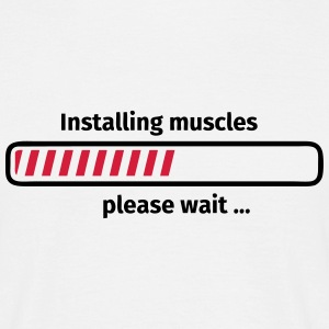 Installing muscles please wait ... Tee shirts - T-shirt Homme