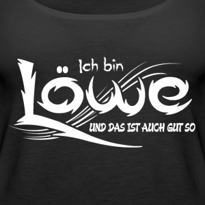 Löwe Tops - Frauen Premium Tank Top