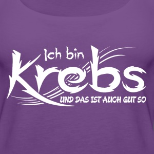 Krebs Tops - Frauen Premium Tank Top