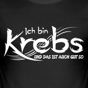 Krebs T-Shirts - Männer Slim Fit T-Shirt