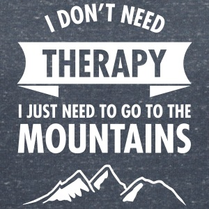 Therapy - Mountains T-Shirts - Frauen T-Shirt mit V-Ausschnitt