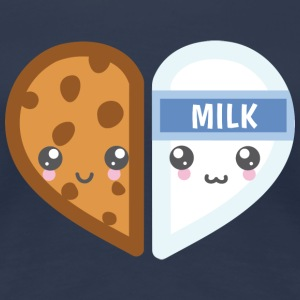 Milk & Cookie - Frauen Premium T-Shirt