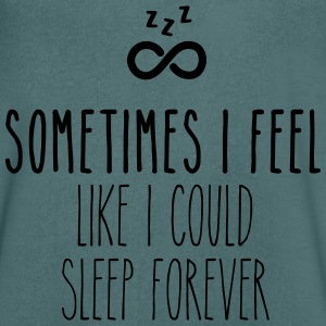 Sometimes I feel like I could sleep forever T-Shirts - Männer T-Shirt mit V-Ausschnitt