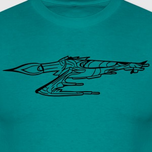 Battle spaceship war Star Wars shoot rebels star l T-Shirts - Men's T-Shirt