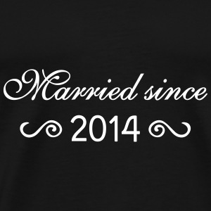 Married since 2014 T-Shirts - Männer Premium T-Shirt