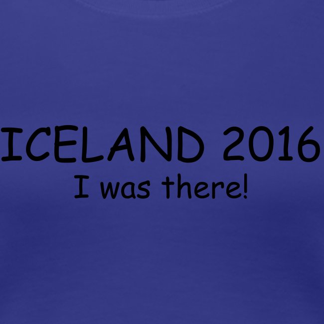 Iceland 2016 - I was there