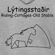 Motiv ~ Lýtingsstaðir-Riding-Cottages-Old Stable- hooded pullover