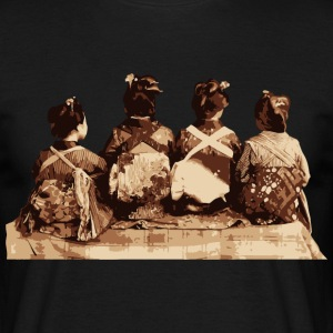 Japanese Dancers - Geisha T-Shirts - Men's T-Shirt