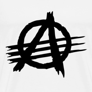 AGAINST ALL AUTHORITIES T-shirts - Mannen Premium T-shirt