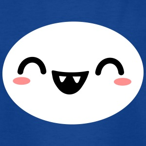Kawaii girly face - Kinder T-Shirt