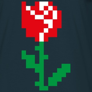 Rose Pixel - Men's T-Shirt