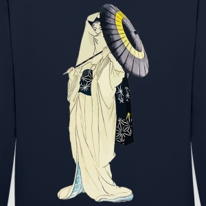 Spirit of the Heron Sweat-shirts - Sweat-shirt contraste