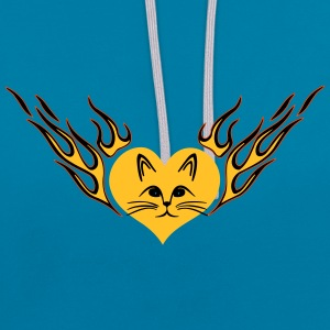 CHAT - Sweat-shirt contraste