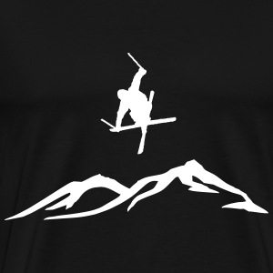 Ski freestyle - Men's Premium T-Shirt