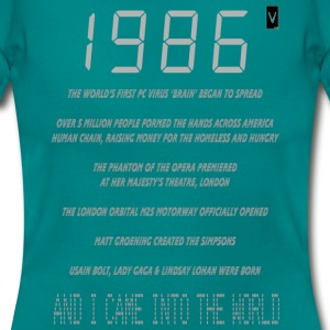1986 30th Birthday - Women's T-Shirt