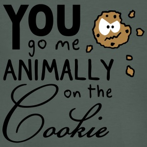 You go me on the cookie - Männer Bio-T-Shirt