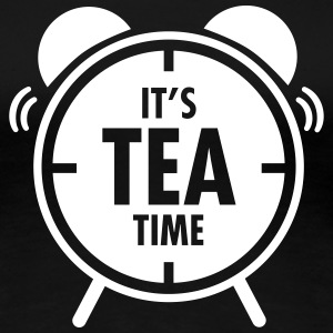It\'s Tea Time T-shirts - Dame premium T-shirt
