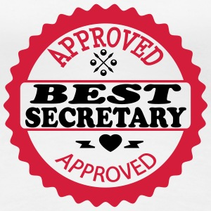 Approved best secretary T-Shirts - Women's Premium T-Shirt