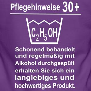 """Geburtstag T-Shirts mit """"30 Geburtstag Pflegehinweise"""""""