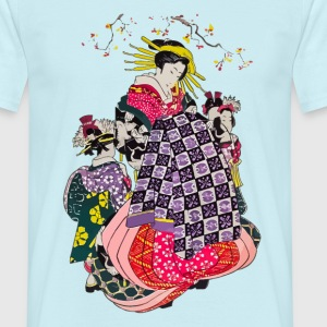 Geisha 4 T-Shirts - Men's T-Shirt