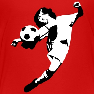 Football Soccer - junior poengsum Skjorter - Premium T-skjorte for barn