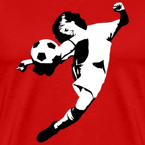 Football Soccer - junior score T-Shirts - Men's Premium T-Shirt
