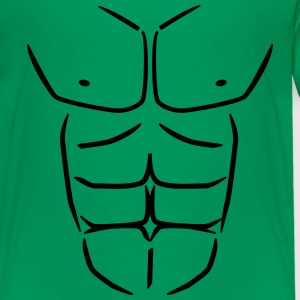 Sixpack Six pack Buikspieren Shirts - Teenager Premium T-shirt