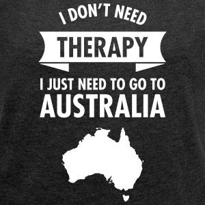 Therapy - Australia T-Shirts - Women's T-shirt with rolled up sleeves