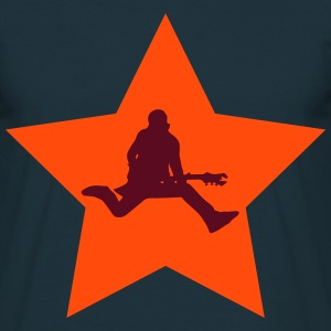 Rocker star - T-shirt herr