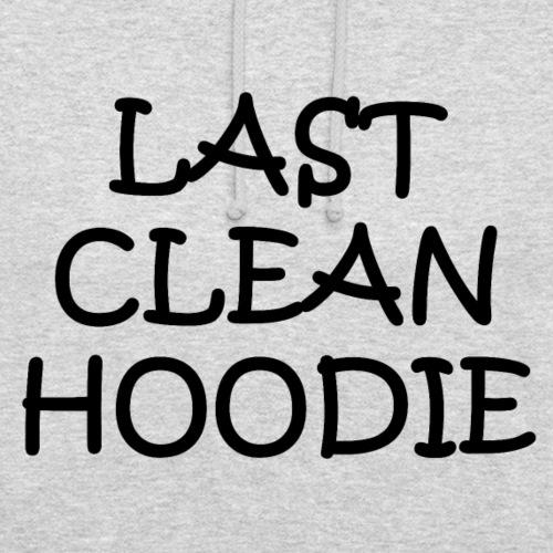 Last clean hoodie