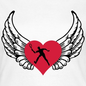 Tennis heart - Women's T-Shirt