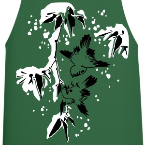 Birds in the Snow  Aprons - Cooking Apron