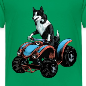 SheepDog on Quadbike Shirts - Kids' Premium T-Shirt