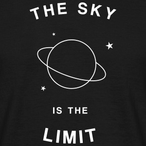 The sky is the limit Camisetas - Camiseta hombre