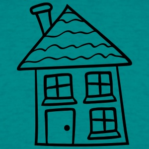 sweet little cottage house home build builder cons T-Shirts - Men's T-Shirt