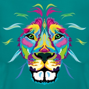 Colored Lion - Women's T-Shirt