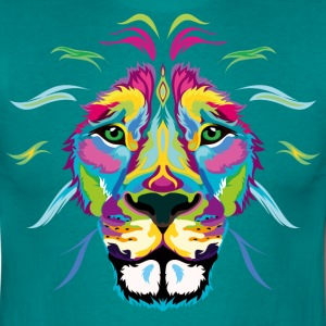 Colored Lion - Men's T-Shirt
