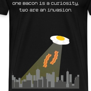 Bacon and Egg Invasion - Männer Premium T-Shirt