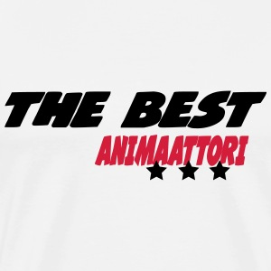 The best animaattori T-shirts - Premium-T-shirt herr