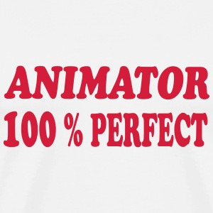 Animator 100 % perfect T-shirts - Premium-T-shirt herr