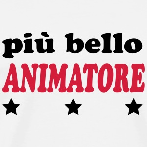 Piu bello animatore T-Shirts - Men's Premium T-Shirt