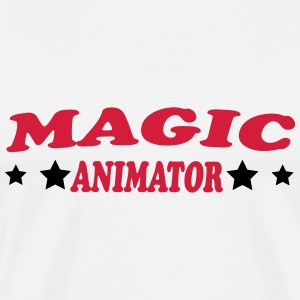 Magic animator T-shirts - Premium-T-shirt herr